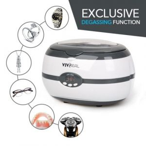 VIVREAL Ultrasonic Cleaner for Jewelry, Lenses, and Watches