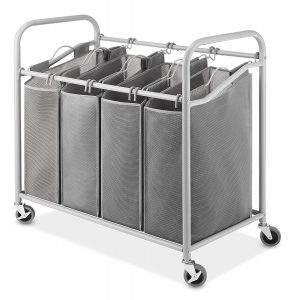 Whitmor 4-Bags Heavy-Duty Laundry Sorter