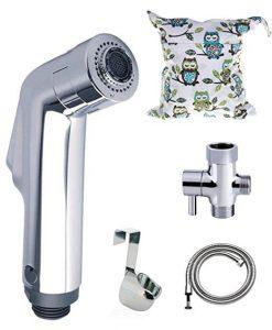 BabyMojos 2-Spray Mode Diaper Sprayer Kit with Shield Guide