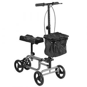 Belovedkai Knee Scooter- Four Wheel Walker