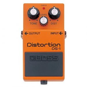Boss DS-1 Distortion Bundle with Instrument Cable