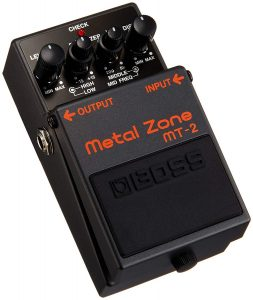 Boss MT-2 Distortion Metal Zone Guitar Pedal