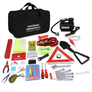 COOCHEER Auto Multifunctional Roadside Emergency Kit