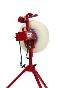 First Pitch Baseline Pitching Machine for Baseball/softball