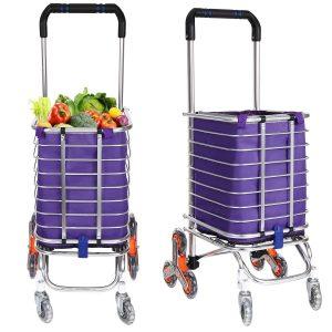 Flyerstoy Lightweight Stair Climbing Cart with Waterproof Canvas Bag
