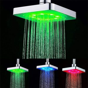 GuDoQi 3 Colors LED Shower Head