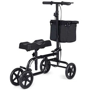 Gymax Knee Walker with Adjustable Height Feature