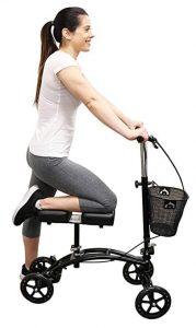 Healthstar Knee Walker| 4 Wheel Kneeling Roller Cart