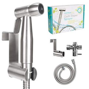 HeepWah Stainless Steel Sprayer with Adjustable Spray