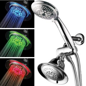 HotelSpa Shower Combo with LED Shower Head