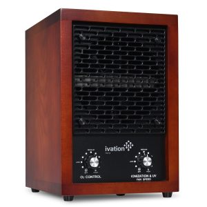 Ivation 5-in-1 HEPA Ozone Generator Air Purifier