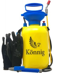 Könnig Lawn and Garden Sprayer 0.8 Gallon