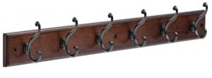 LIBERTY 165541 Six Scroll Coat Rack