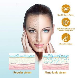 LONOVE- Facial Steamer Nano Ionic Warm Facial Steamer