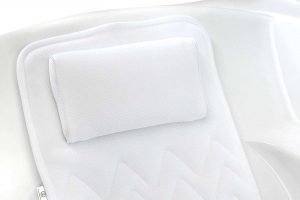 Luxury Full Body Bath Cushion with Raised Pillow