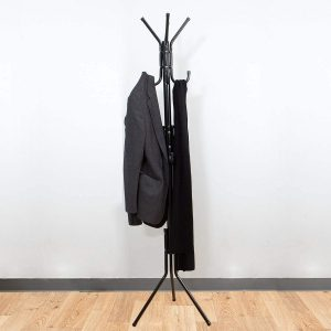 Mind Reader Standing Metal Coat Rack