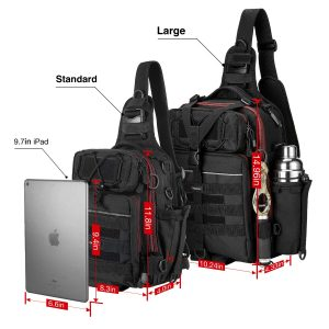 Piscifun Fishing Tackle Storage Bag - Cross Body Design