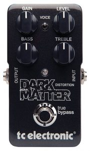TC Electronic Matter Dark Distortion Effect Pedal