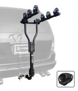 Tyger Auto TG-RK3B101S Bike Hitch Carrier Rack