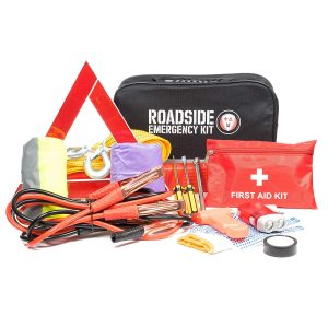 WNG Brands Roadside First Aid Kit Emergency Car Kit