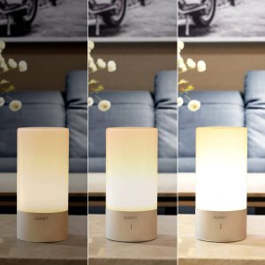 AUKEY Table Lamp- Color Changing RGB