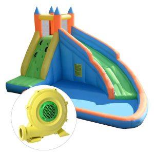 Costzon Slide Bouncer Water Inflatable Pool
