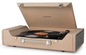 Crosley CR6232A-BR Nomad Portable Ripping & Editing USB Turntable