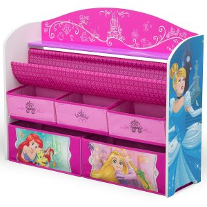 Delta Children Deluxe Book Toy Organizer