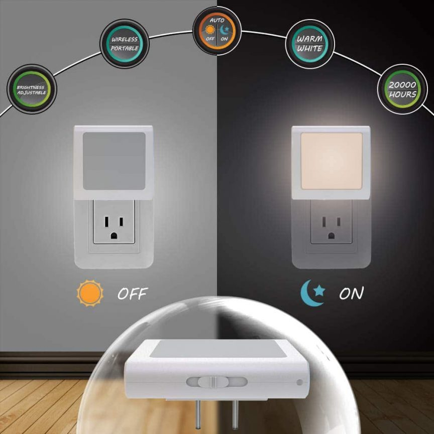 Dimmable LED Night Lights