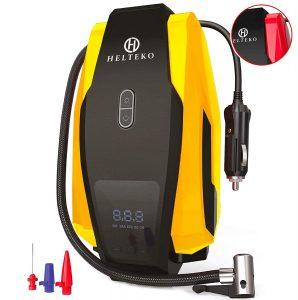 Helteko Portable Long Cable 150PSI Air Compressor Pump