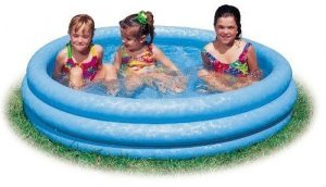Intex Crystal Blue Inflatable Swimming Pool