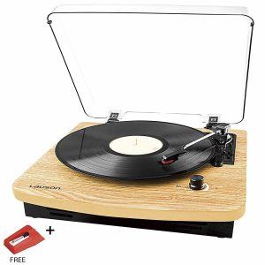LAUSON CL508 USB Turntable with Built-in Stereo Speakers and 3 Speeds
