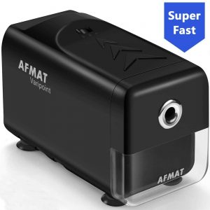 AFMAT Electric Pencil Sharpener for Classroom