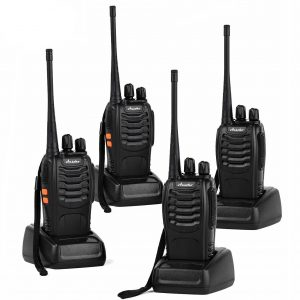 Ansoko Rechargeable Walkie Talkies- 16-Channel (Pack of 4)