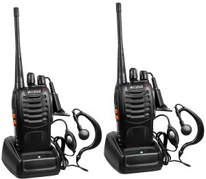 Arcshell Rechargeable 2-Way Radios- Charger Included