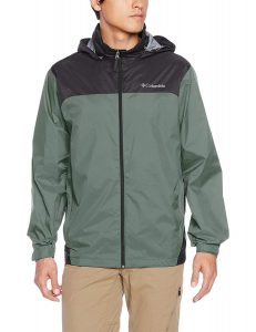 Columbia Men's Front-Zip Glennaker Lake Rain Jacket
