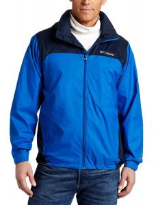 Columbia Men's Lake Front-Zip Glennaker Rain Jacket