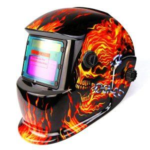 DEKOPRO Welding Helmet Solar Powered