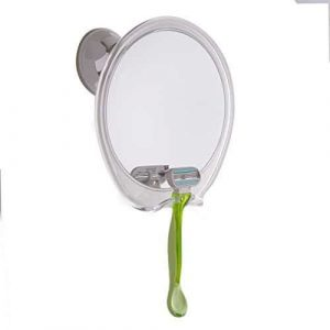 Fogless Shower Mirror 5X Magnifying