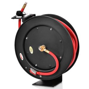 Goplus Retractable Air Hose Wheel, Max.300 PSI