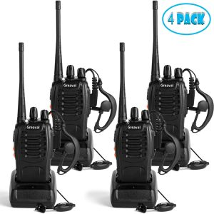 Greaval Rechargeable Walkie Talkies 16-CH Radios