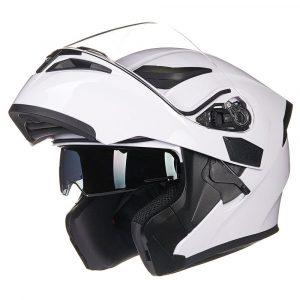 ILM Motorcycle Dual Visor Bluetooth Helmet