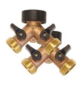 Kasian House Brass Y Valve Hose Splitter