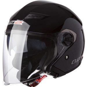 LS2 Helmets 569 Track Solid Motorcycle Helmet