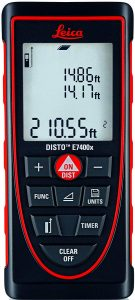 Leica DISTO 265' Laser Tape Meter, Red/Black