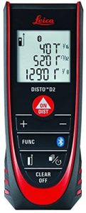 Leica Geosystems DISTO D2 330ft Laser Tape Measure