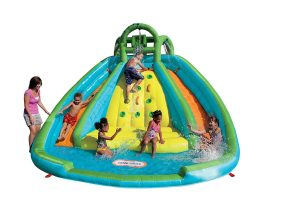 Little Tikes Rocky Inflatable Slide Bouncer