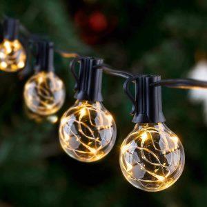 Novtech Waterproof LED Outdoor String Lights