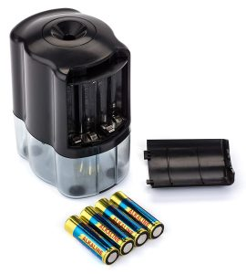 Officeline Electric Pencil Sharpener - Batteries Included