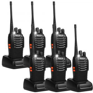 Retevis H-777 2-Way Radio- UHF Rechargeable (6 Pack)